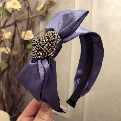 Cloth Simple Bows Hair accessories  (purple)  Fashion Jewelry NHSM0222-purple's discount tags