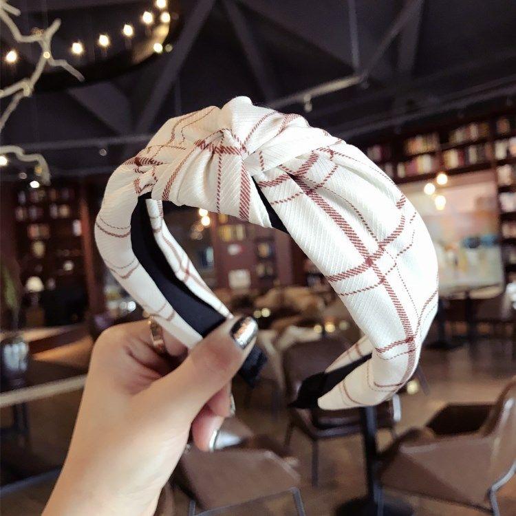 Cloth Korea Bows Hair accessories  white  Fashion Jewelry NHSM0299white