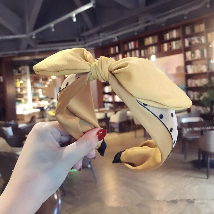 Cloth Korea Bows Hair accessories  yellow  Fashion Jewelry NHSM0314yellow