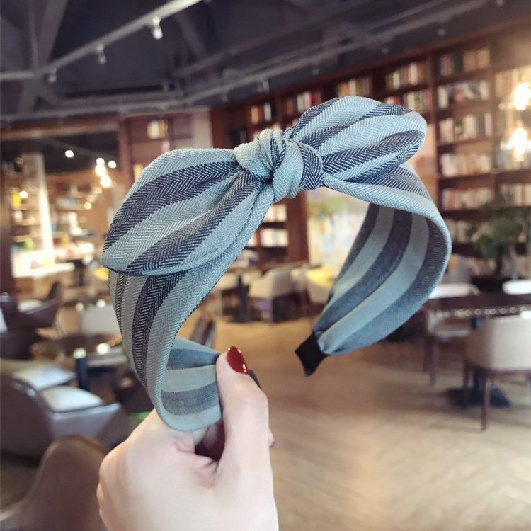 Cloth Simple Bows Hair accessories  (green)  Fashion Jewelry NHSM0316-green