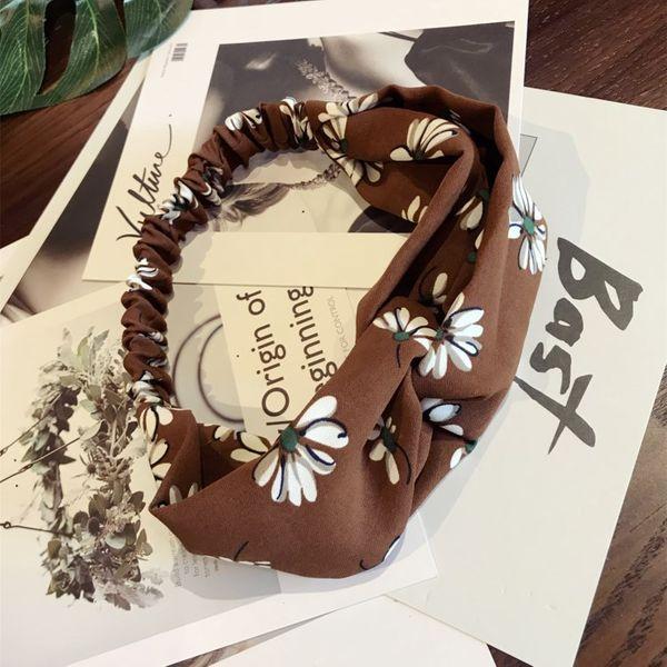 Cloth Korea Bows Hair accessories  (Khaki)  Fashion Jewelry NHSM0323-Khaki