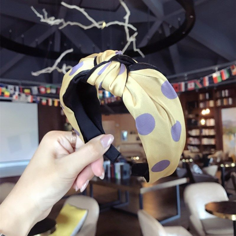 Cloth Korea Bows Hair accessories  (yellow)  Fashion Jewelry NHSM0368-yellow