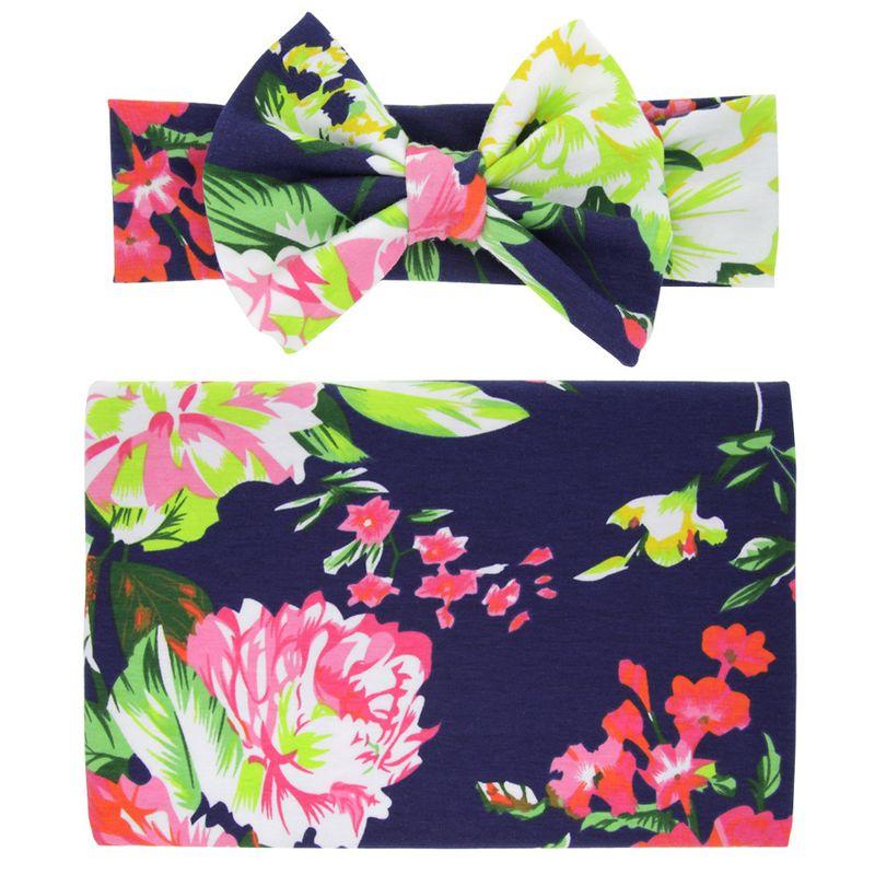Cloth Fashion Flowers Hair accessories  Navy peony flower  Fashion Jewelry NHWO0591Navypeonyflower