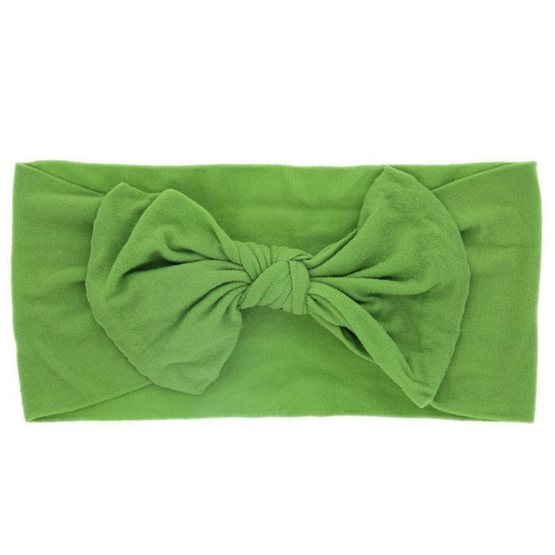 Cloth Fashion Bows Hair accessories  (green)  Fashion Jewelry NHWO0600-green