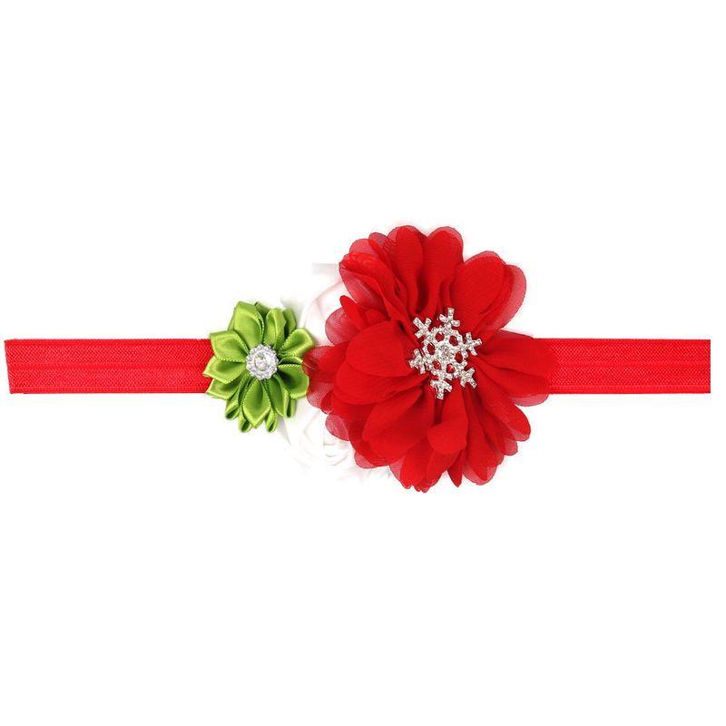 Cloth Fashion Bows Hair accessories  (Red grass green)  Fashion Jewelry NHWO0602-Red-grass-green
