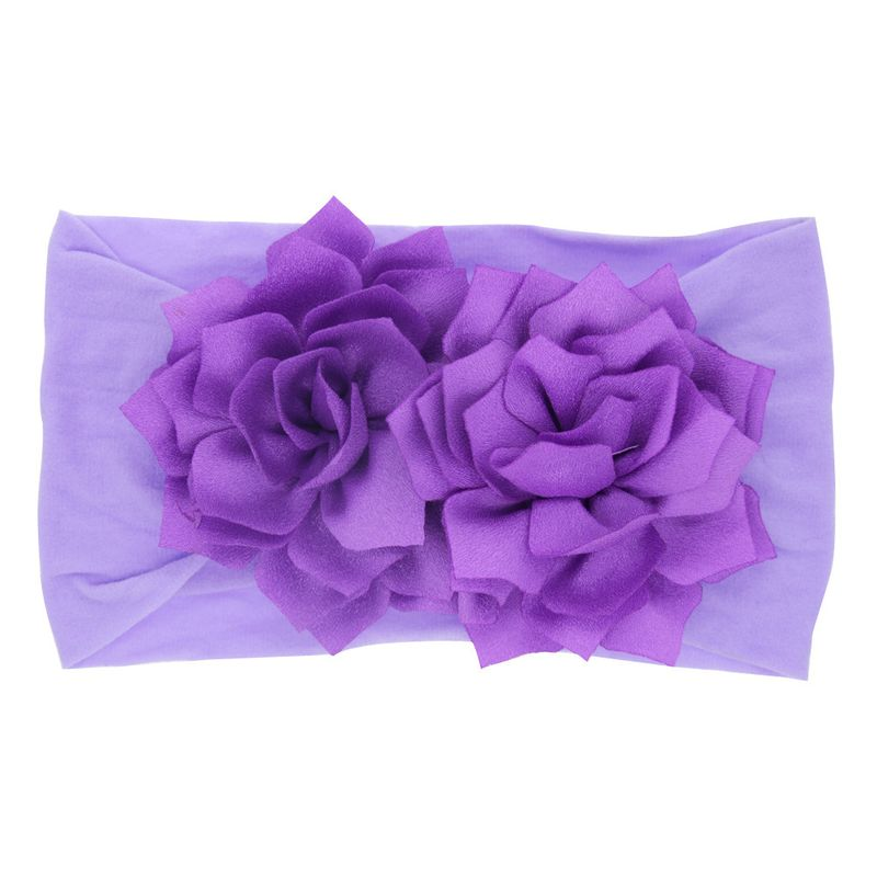 Cloth Fashion Geometric Hair accessories  (purple)  Fashion Jewelry NHWO0615-purple