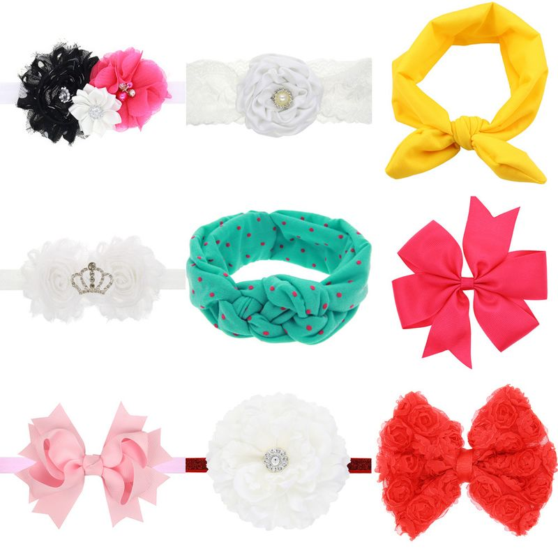 Cloth Fashion Flowers Hair accessories  (Photo Color)  Fashion Jewelry NHWO0620-Photo-Color