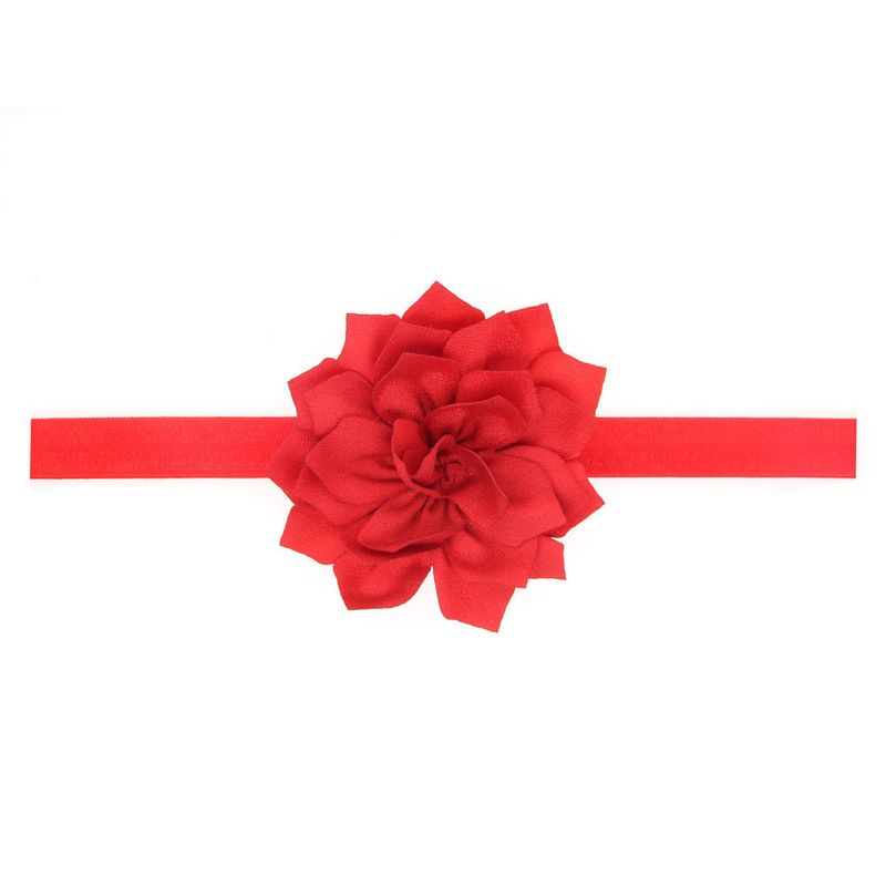 Cloth Fashion Flowers Hair accessories  (red)  Fashion Jewelry NHWO0623-red