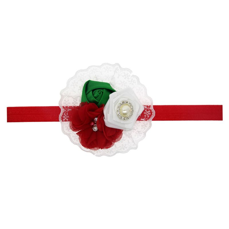 Cloth Korea Flowers Hair accessories  (1)  Fashion Jewelry NHWO0628-1