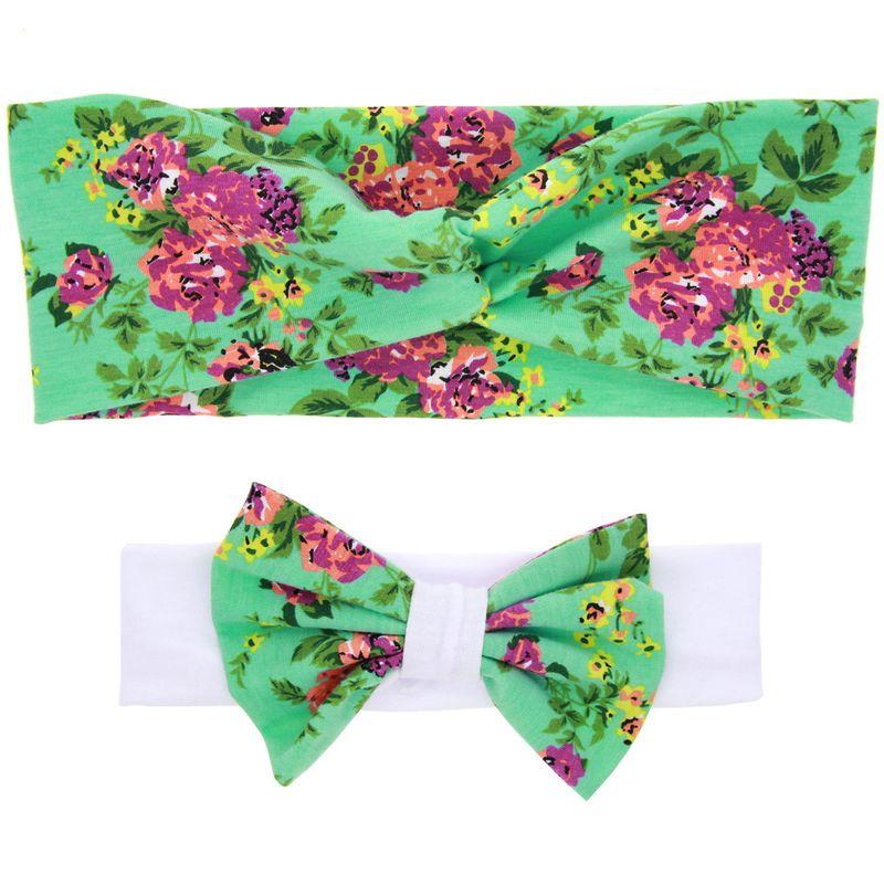Cloth Fashion Flowers Hair accessories  green  Fashion Jewelry NHWO0630green