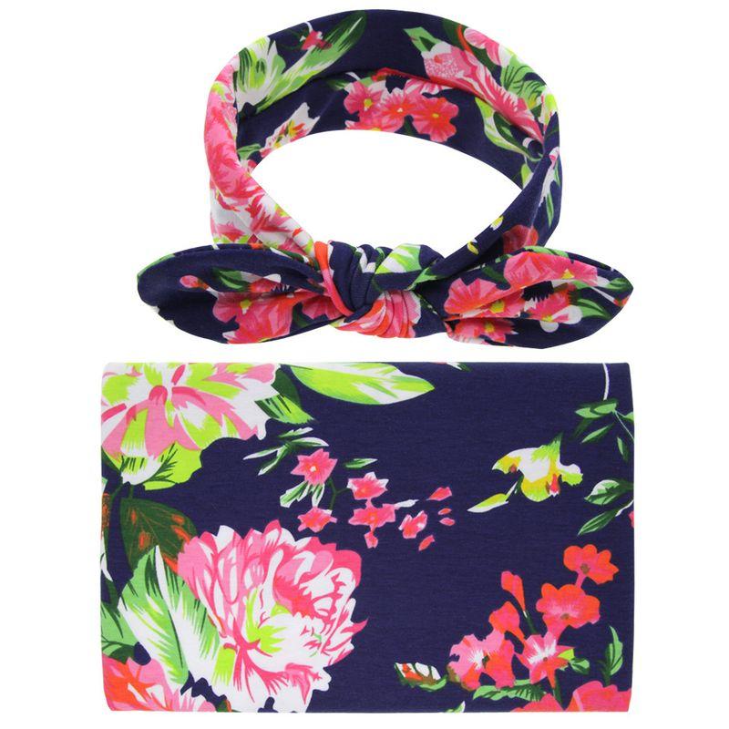 Cloth Fashion Flowers Hair accessories  (Navy peony flower)  Fashion Jewelry NHWO0631-Navy-peony-flower