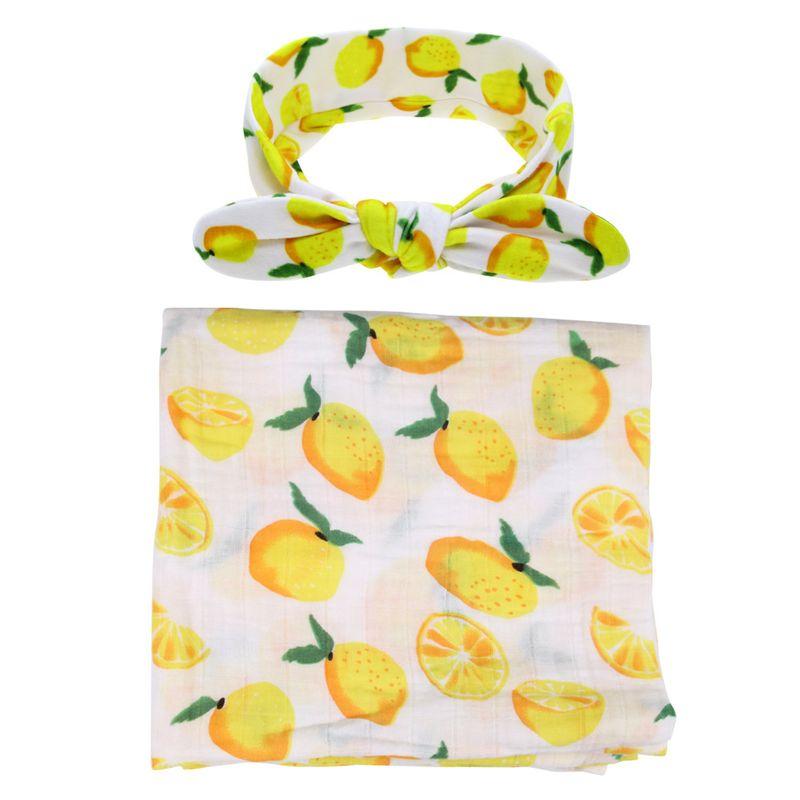Cloth Fashion Flowers Hair accessories  (Mango set)  Fashion Jewelry NHWO0642-Mango-set