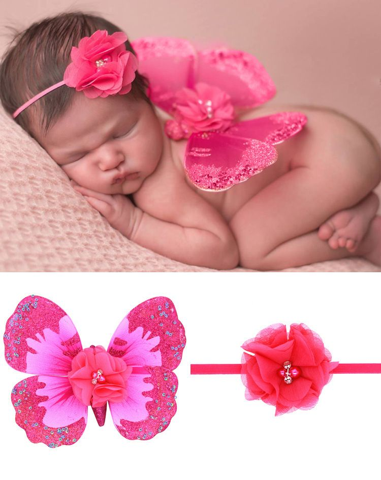 Cloth Fashion  Hair accessories  (Rose red-rose red)  Fashion Jewelry NHWO0650-Rose-red-rose-red