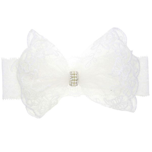 Cloth Fashion Bows Hair accessories  (white)  Fashion Jewelry NHWO0652-white