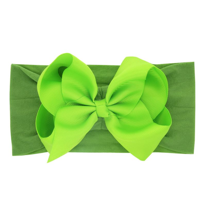 Cloth Fashion Bows Hair accessories  (green)  Fashion Jewelry NHWO0666-green