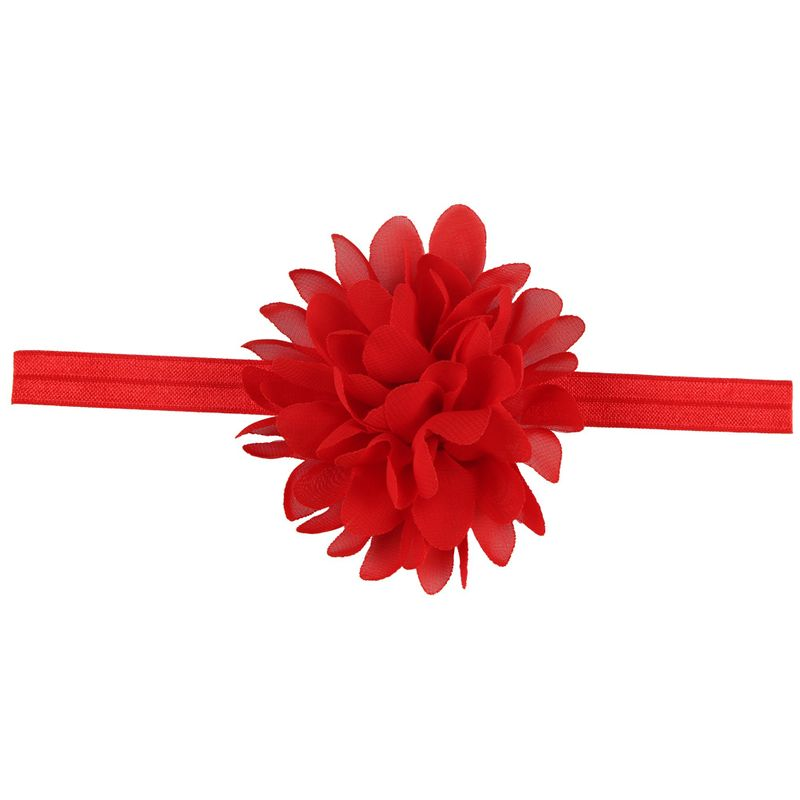 Cloth Fashion Flowers Hair accessories  red  Fashion Jewelry NHWO0677red