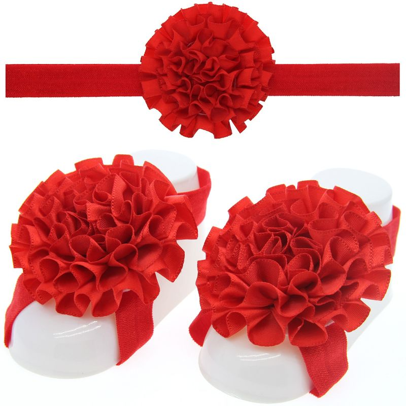 Cloth Fashion Flowers Hair accessories  (red)  Fashion Jewelry NHWO0681-red