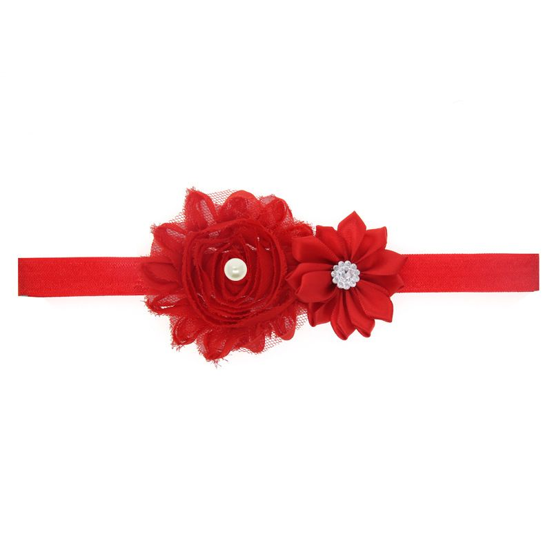 Cloth Fashion Flowers Hair accessories  (red)  Fashion Jewelry NHWO0685-red