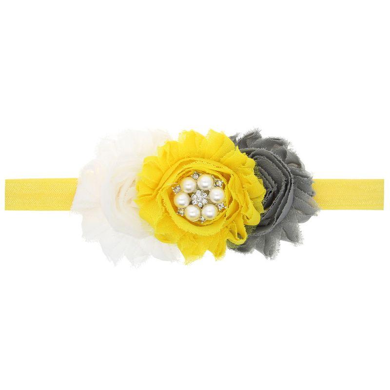 Cloth Fashion Flowers Hair accessories  (1)  Fashion Jewelry NHWO0717-1