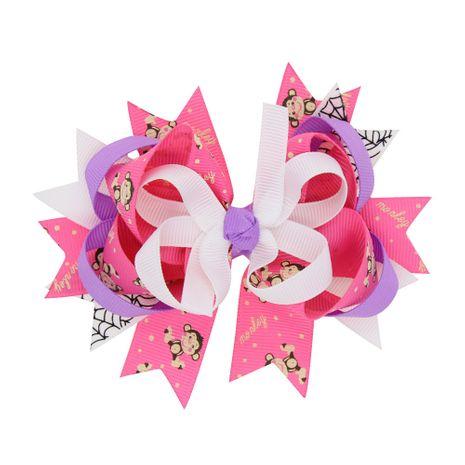 Alloy Fashion Bows Hair accessories  (Deep pink monkey)  Fashion Jewelry NHWO0719-Deep-pink-monkey's discount tags