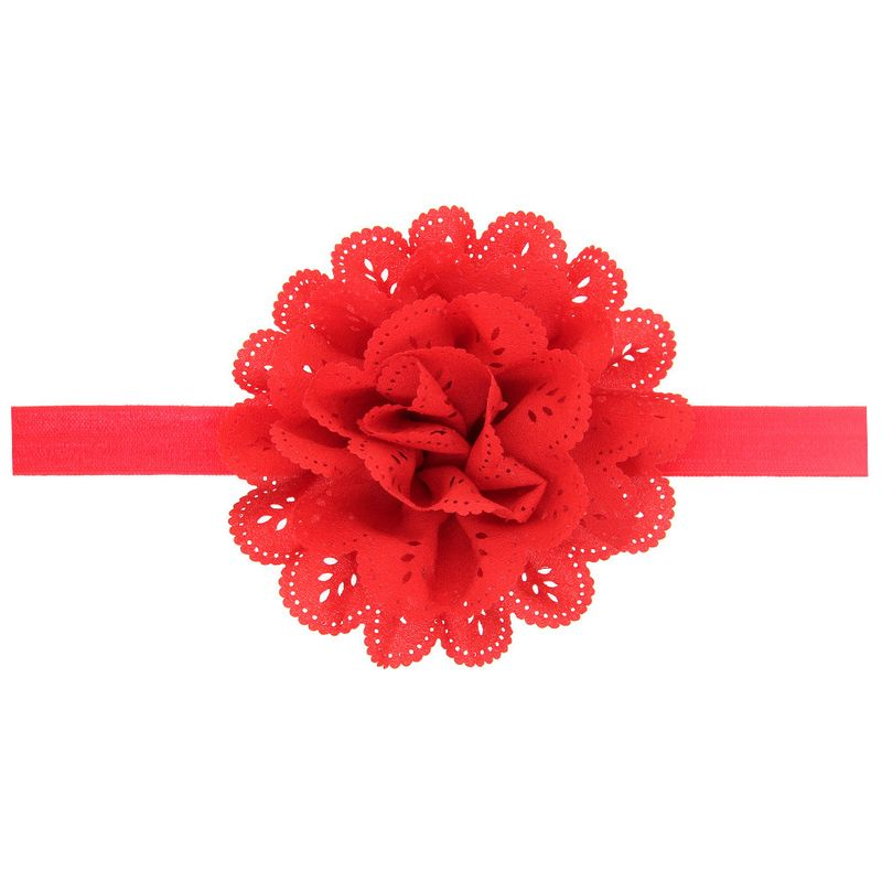 Cloth Fashion Flowers Hair accessories  (red)  Fashion Jewelry NHWO0721-red