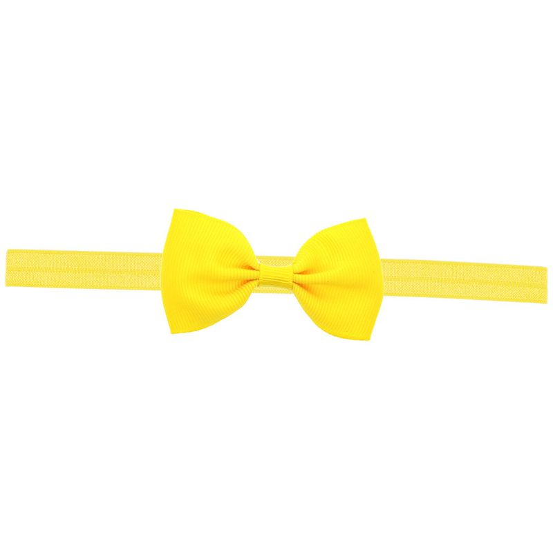 Cloth Fashion Bows Hair accessories  yellow  Fashion Jewelry NHWO0726yellow