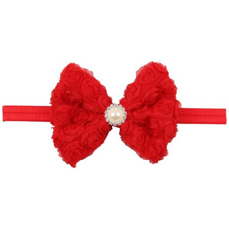 Cloth Fashion Flowers Hair accessories  (red)  Fashion Jewelry NHWO0725-red's discount tags
