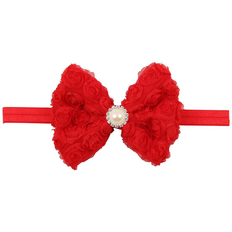 Cloth Fashion Flowers Hair accessories  (red)  Fashion Jewelry NHWO0725-red