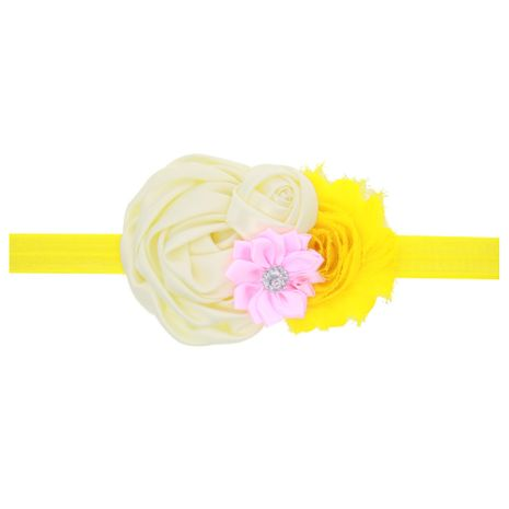 Cloth Simple Flowers Hair accessories  (yellow)  Fashion Jewelry NHWO0729-yellow's discount tags