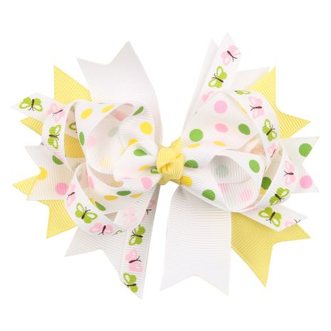 Cloth Fashion Bows Hair accessories  (yellow)  Fashion Jewelry NHWO0731-yellow's discount tags
