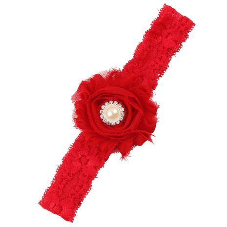 Cloth Fashion Flowers Hair accessories  (red)  Fashion Jewelry NHWO0730-red's discount tags