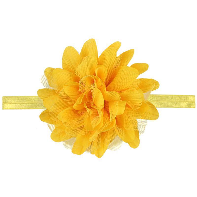 Cloth Fashion Flowers Hair accessories  (yellow)  Fashion Jewelry NHWO0735-yellow