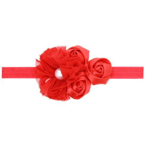 Cloth Fashion Flowers Hair accessories  (red)  Fashion Jewelry NHWO0736-red's discount tags