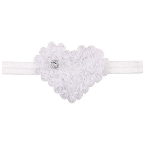 Cloth Fashion Sweetheart Hair accessories  (white)  Fashion Jewelry NHWO0737-white's discount tags