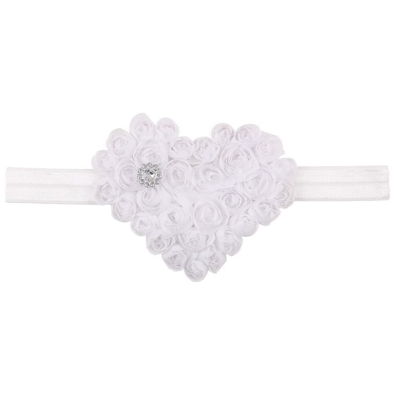 Cloth Fashion Sweetheart Hair accessories  white  Fashion Jewelry NHWO0737white