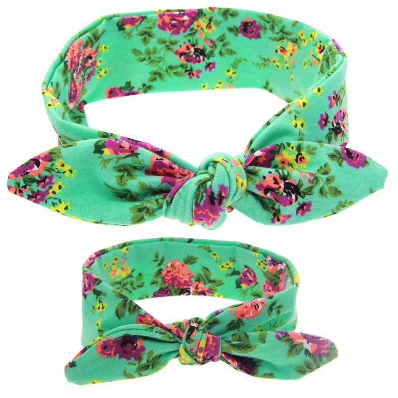 Cloth Fashion Flowers Hair accessories  green  Fashion Jewelry NHWO0738green