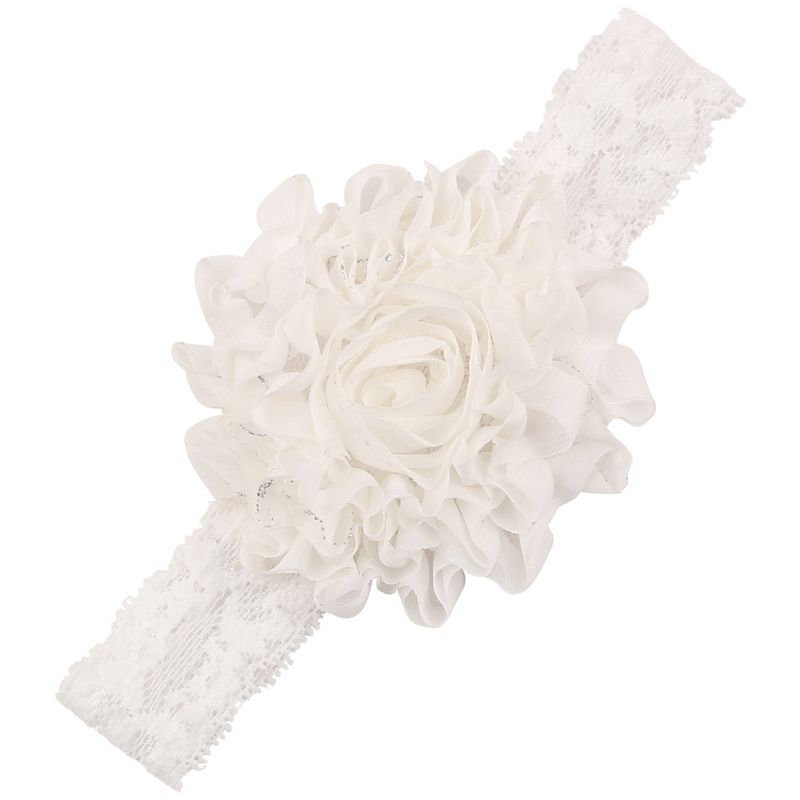 Cloth Fashion Flowers Hair accessories  white  Fashion Jewelry NHWO0739white
