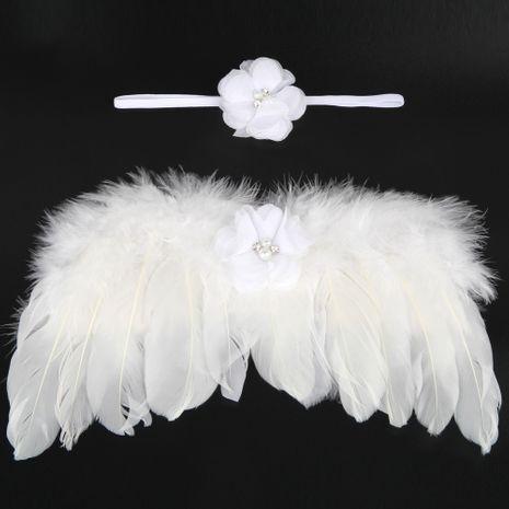 Alloy Fashion  Hair accessories  (White-white-pink)  Fashion Jewelry NHWO0742-White-white-pink's discount tags