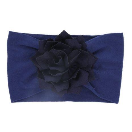 Cloth Fashion Geometric Hair accessories  (Navy blue lotus leaf)  Fashion Jewelry NHWO0743-Navy-blue-lotus-leaf's discount tags