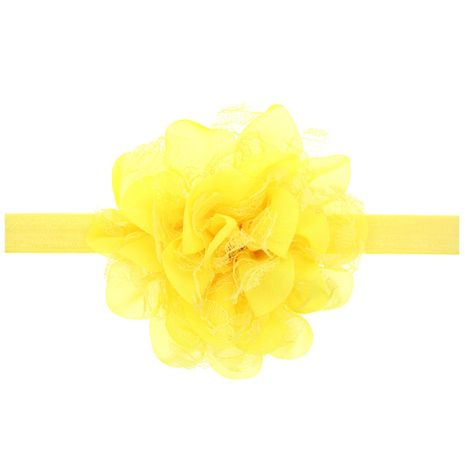 Cloth Fashion Flowers Hair accessories  (yellow)  Fashion Jewelry NHWO0746-yellow's discount tags