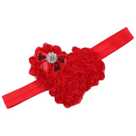 Cloth Fashion Flowers Hair accessories  (red)  Fashion Jewelry NHWO0752-red's discount tags