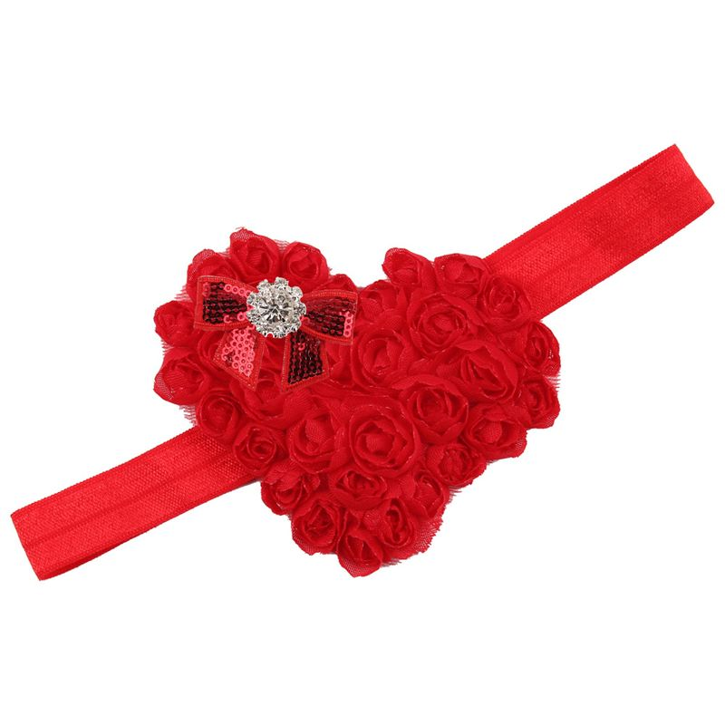Cloth Fashion Flowers Hair accessories  (red)  Fashion Jewelry NHWO0752-red