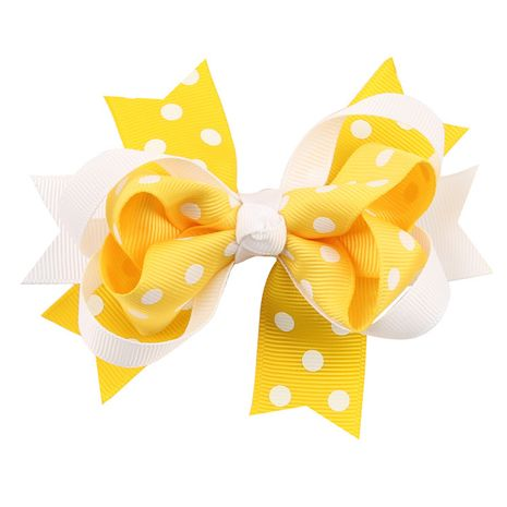 Cloth Fashion Bows Hair accessories  (yellow)  Fashion Jewelry NHWO0757-yellow's discount tags