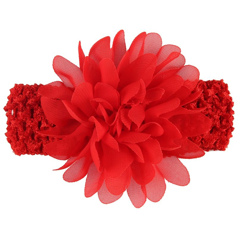 Cloth Fashion Flowers Hair accessories  (red)  Fashion Jewelry NHWO0761-red