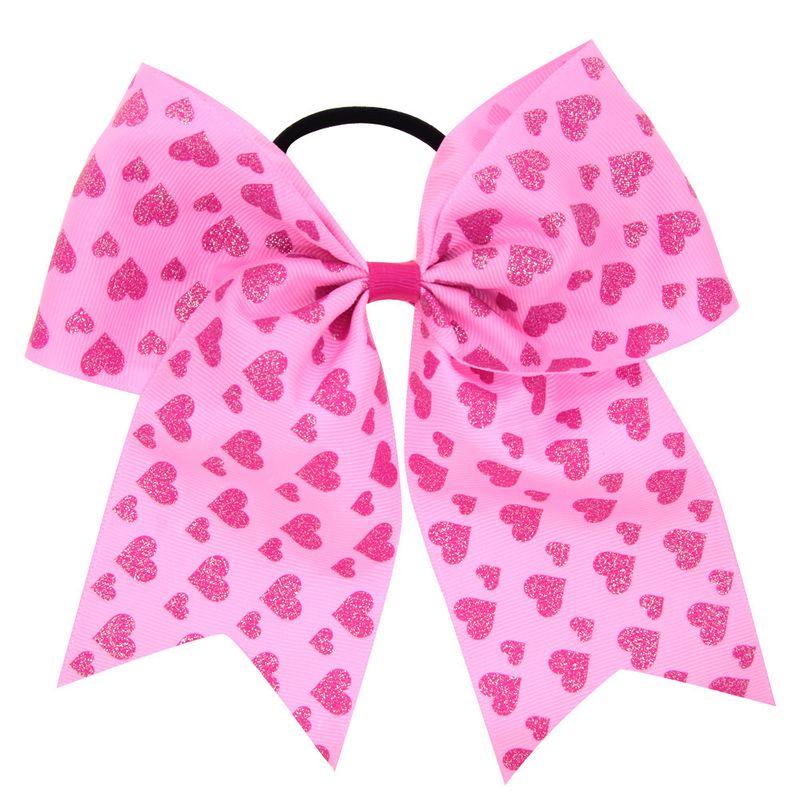 Cloth Fashion Sweetheart Hair accessories  (Pink love)  Fashion Jewelry NHWO0762-Pink-love