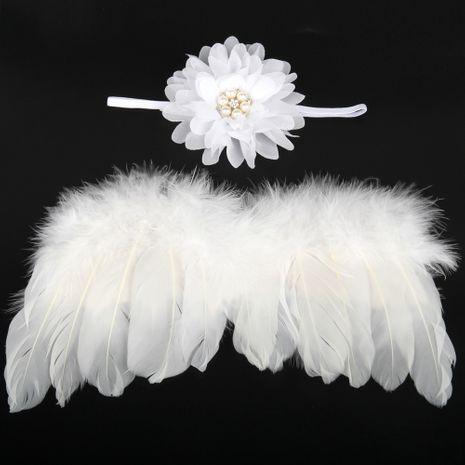 Alloy Fashion  Hair accessories  (White-white-pink)  Fashion Jewelry NHWO0764-White-white-pink's discount tags