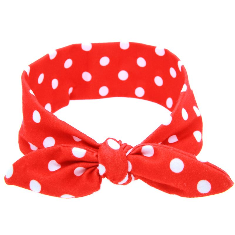 Cloth Fashion Flowers Hair accessories  (Red dot)  Fashion Jewelry NHWO0766-Red-dot
