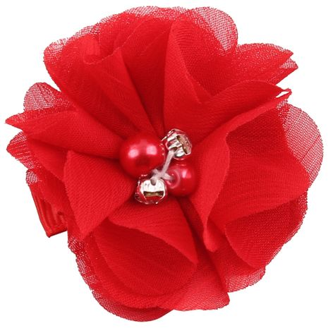 Cloth Fashion Flowers Hair accessories  (red)  Fashion Jewelry NHWO0767-red's discount tags