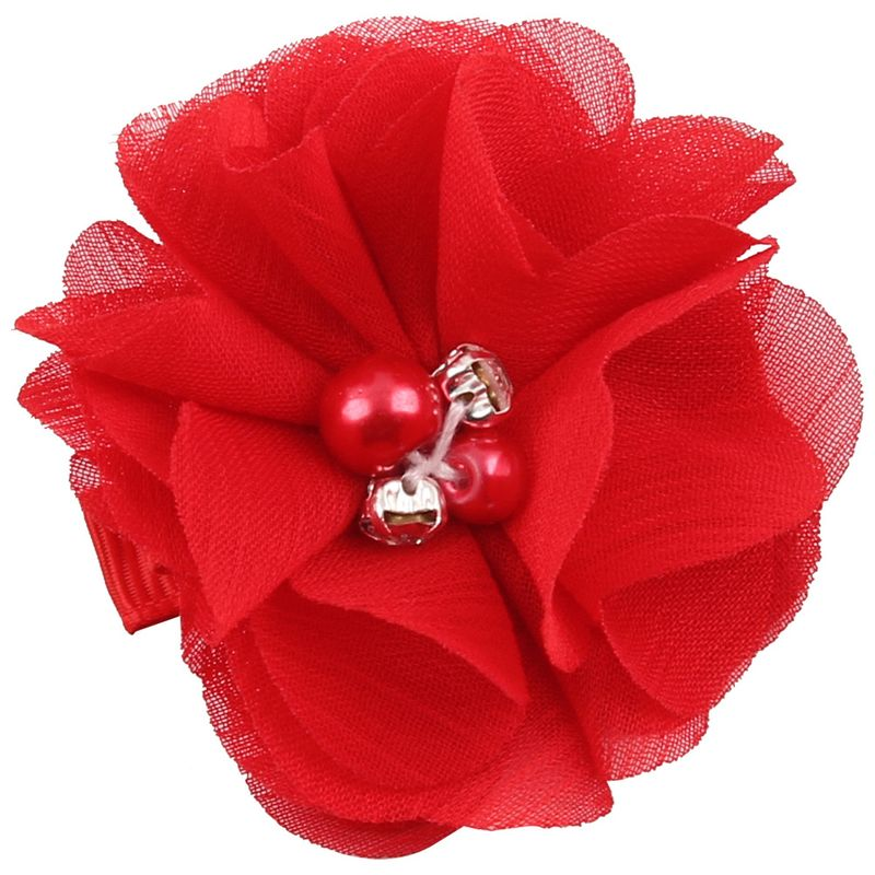 Cloth Fashion Flowers Hair accessories  (red)  Fashion Jewelry NHWO0767-red