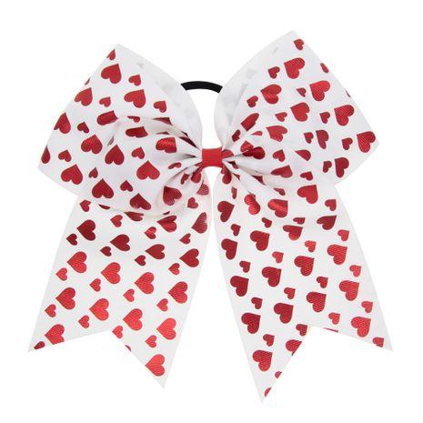 Cloth Fashion Sweetheart Hair accessories  (White love)  Fashion Jewelry NHWO0768-White-love's discount tags